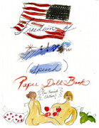 Freedom of Speech Paper Doll Book Cover
